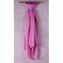100% Pashmina輕薄披肩-玫瑰粉