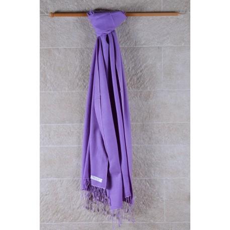 70%Pashmina輕薄披肩-紫羅蘭