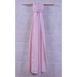 100% Pashmina厚織披肩-仙女粉