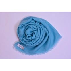 100% Pashmina頂級披肩-嬰兒藍