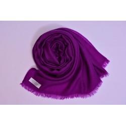100% Pashmina頂級披肩-神秘紫