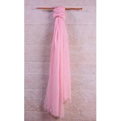 100% Pashmina頂級披肩(加大)-仙女粉